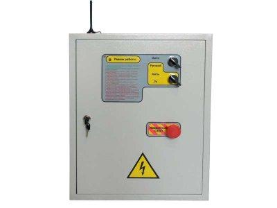 Блок управления электрогенератором БУЭ-Basic GPRS, автоматика АВР, автозапуск для генератора с Web GPRS и SMS мониторингом