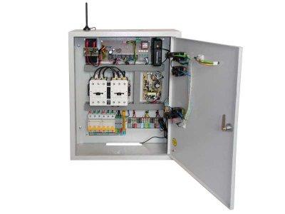 Блок управления электрогенератором БУЭ-Basic GPRS, автоматика АВР, автозапуск для генератора с Web GPRS и SMS мониторингом изнутри